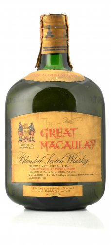 THE GREAT MACAULAY BLENDED SCOTCH WHISKY 750 ML