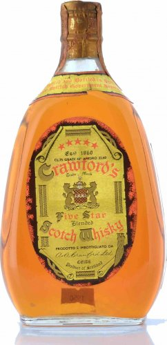 CRAWFORD'S FIVE STAR BLENDED SCOTCH