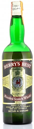 BERRY'S BEST BLENDED SCOTCH WHISKY 750 ML