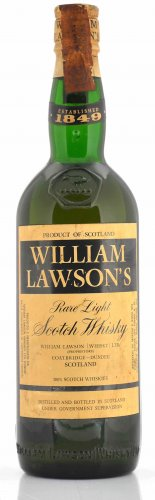 WILLIAM LAWSON'S RARE LIGHT SCOTCH WHISKY 750 ML