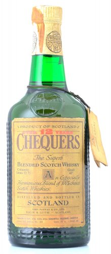 CHEQUERS 12Y THE SUPERB BLENDED SCOTCH WHISKY 750 ML