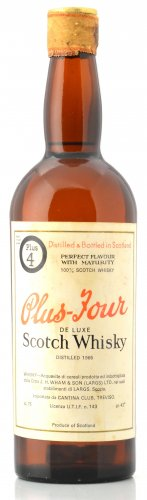PLUS - FOUR DE LUXE SCOTCH WHISKY 750 ML