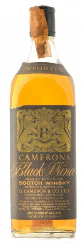 CAMERONS BLACK PRINCE SPECIALLY BLENDED OLD 750ML