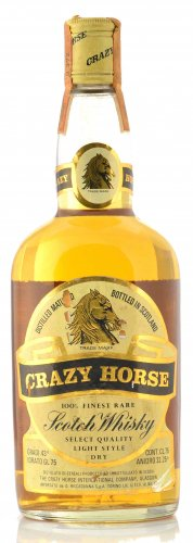 CRAZY HORSE 100% FINEST RARE SCOTCH WHISKY 750ML
