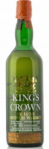 KING'S CROWN DE LUXE SCOTCH WHISKY