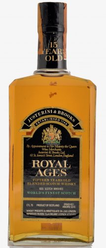 ROYAL AGES 15 YO WORLD'S FINEST SCOTCH 750 ML