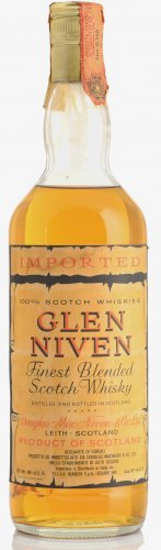 GLEN NIVEN FINEST BLENDED SCOTCH WHISKY 750 ML