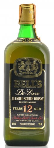 BELL'S DE LUXE BLENDED SCOTCH WHISKY 12 YO 750 ML