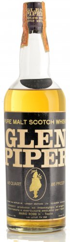 GLEN PIPER PURE MALT SCOTCH WHISKY 750 ML
