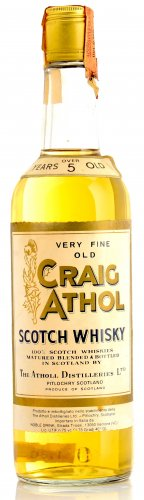 CRAIG ATHOL VERY FINE OLD SCOTCH WHISKY 5 YO 750 ML