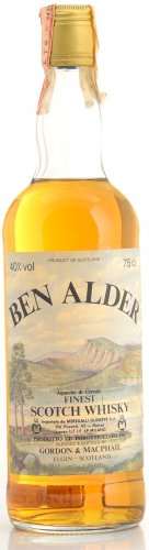 BEN ALDER FINEST SCOTCH WHISKY 750 ML