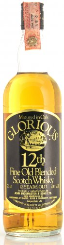 GLORIOUS FINE OLD BLENDED SCOTCH WHISKY 12 YO 750 ML