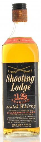 SHOOTING LODGE SCOTCH WHISKY 12 YO 750 ML