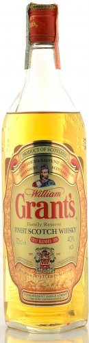 WILLIAM GRANT'S FAMILY RESERVE FINEST SCOTCH WHISKY 700 ML
