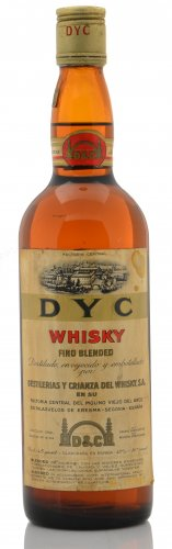FACTORIA CENTRAL DYC WHISKY FINO BLENDED 750 ML