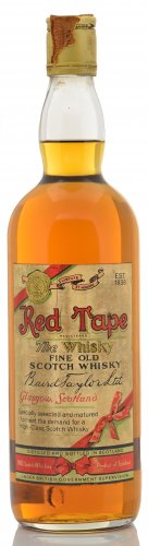 RED TAPE FINE OLD SCOTCH WHISKY 750 ML