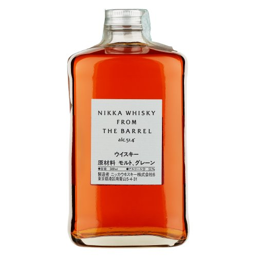 NIKKA WHISKY FROM THE BARREL BLEND 500 ML
