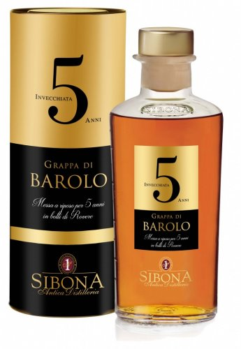 GRAPPA DI BAROLO 5 ANNI 500 ML