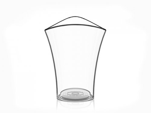 SECCHIELLO VELA BUCKET ROUND CLEAR