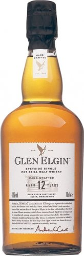 GLEN ELGIN SCOTCH WHISKY 12Y HAND CRAFTED 700 ML