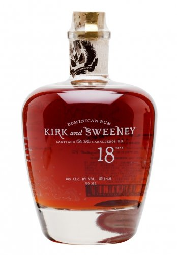 3 BADGE RUM KIRK & SWEENEY 18 Y 700 ML