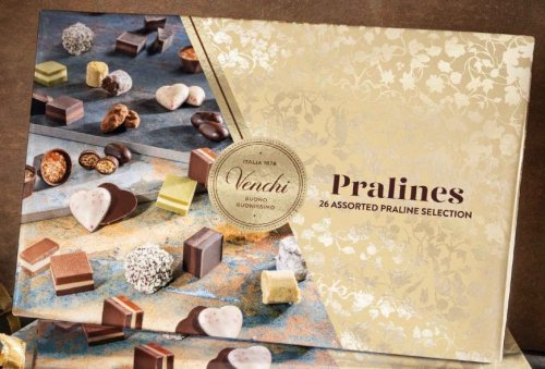 PRALINES SELECTION SCATOLA REGALO 200 GR