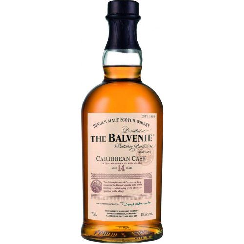 WHISKY THE BALVENIE CARIBBEAN CASK 14 Y 700 ML