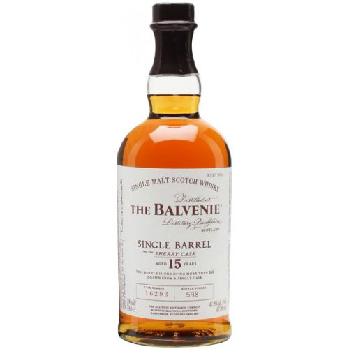 WHISKY THE BALVENIE SINGLE MALT & SINGLE BARREL 15Y 700 ML