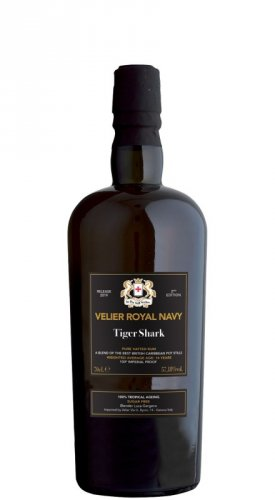 RUM VELIER ROYAL NAVY TIGER SHARK  2ND  EDITION 700 ML