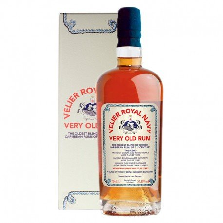 RUM VELIER ROYAL NAVY 17,42Y 700 ML