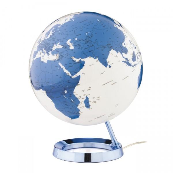 Mappamondo 30 cm l c hot blu inglese 230 v light for Complemento d arredo in inglese