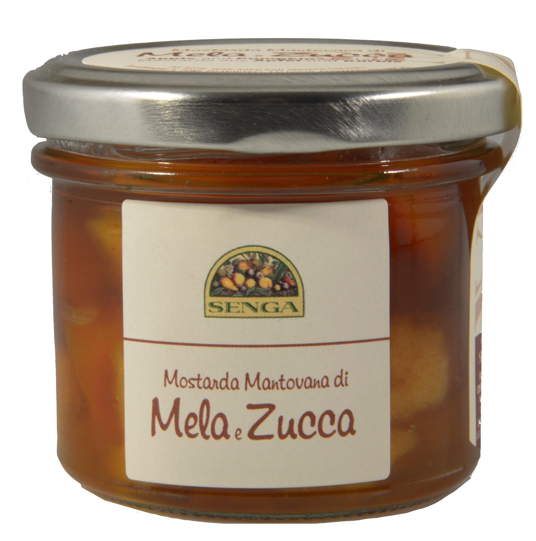 Mostarda mantovana di mele e zucca 120 gr agricola senga for Mostarda di mele mantovana